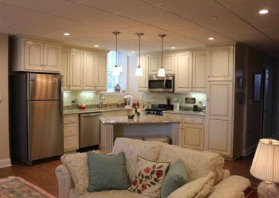 Apt Kitchen - Living room