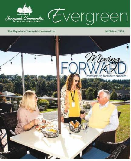 Evergreen Cover Spring 2016