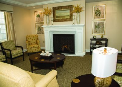 Main Lobby with Fireplace