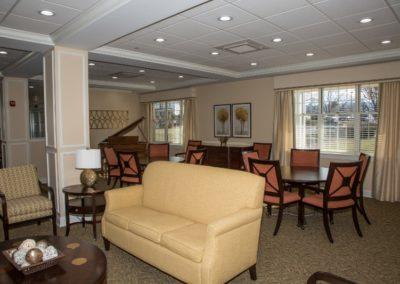 Main Lobby with grand piano